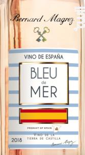 Bleu de Mer Espagne - Bernard Magrez - 2018 - Rosé