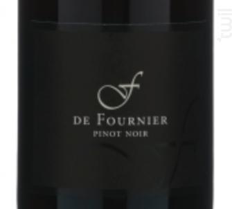 F de Fournier - FOURNIER Père & Fils - 2015 - Rouge