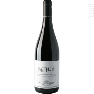 Les Vignes De Bila-haut - Maison M.Chapoutier - Domaine de Bila-Haut - 2013 - Rouge