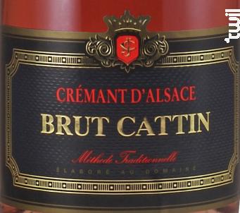 Brut Cattin Rosé - Maison Joseph Cattin - Non millésimé - Effervescent