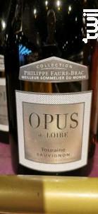 Opus de Loire - Alliance Loire - 2018 - Blanc