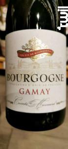 Bourgogne Gamay - Domaine Comte de Mesnard - 2018 - Rouge