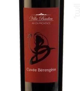 Cuvée Bérengère - Villa Baulieu - 2016 - Rouge