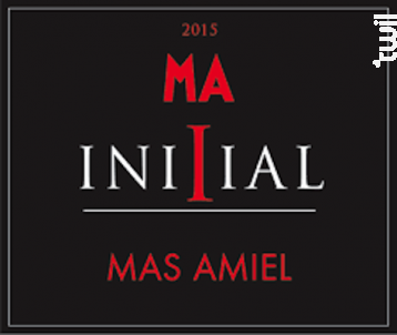 Initial - Mas Amiel - 2016 - Rouge