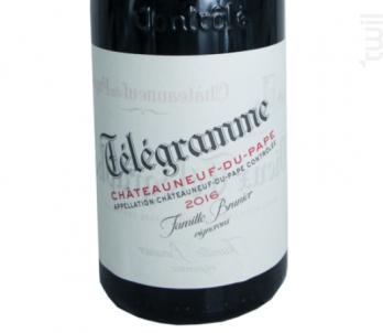 Télégramme - Domaine Du Vieux Telegraphe - 2016 - Rouge