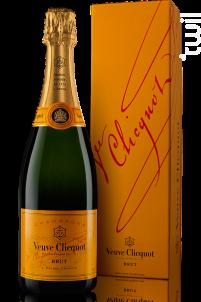 Brut Carte Jaune - Veuve Clicquot - Non millésimé - Effervescent