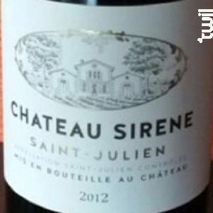 Château Sirène - Château Sirène - 2000 - Rouge