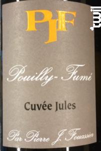Cuvée Jules - Domaine Fouassier - 2018 - Blanc
