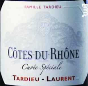 Cuvée spéciale - Maison Tardieu Laurent - 2017 - Rouge