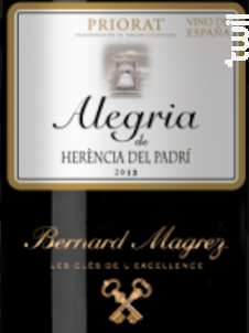 Alegria - Bernard Magrez - 2009 - Rouge