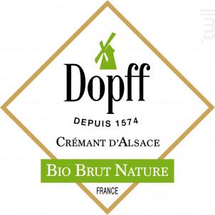 Crémant d'Alsace Bio Brut - Dopff Au Moulin - Non millésimé - Effervescent