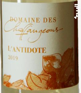 L'Antidote - Domaine des Chaffangeons - 2019 - Blanc