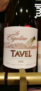 La Cigaline - Andeol salavert - 2018 - Rosé