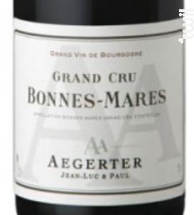 Bonnes-Mares Grand Cru - Jean Luc et Paul Aegerter - 2010 - Rouge