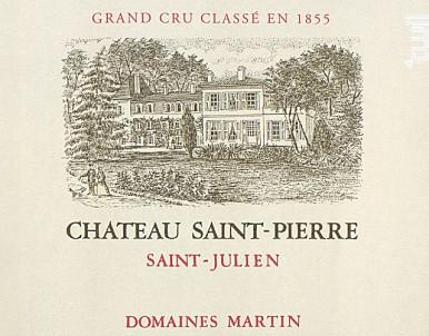Château Saint-Pierre - Château Saint-Pierre - Domaines Martin - 2015 - Rouge