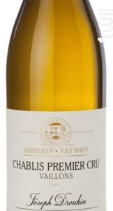 Drouhin Chablis Vaillons Premier Cru - Maison Joseph Drouhin - 2015 - Blanc