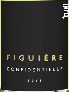 Confidentielle - Figuière - 2018 - Blanc