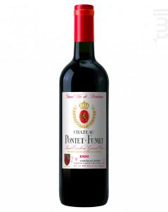 Château Pontet-Fumet - Vignobles Bardet - 1996 - Rouge