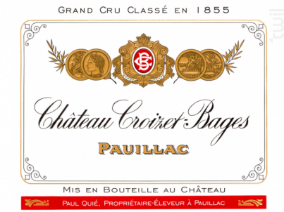Château Croizet Bages - Château Croizet Bages - 2007 - Rouge