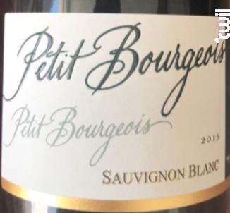 Petit Bourgeois Sauvignon - Henri Bourgeois - 2016 - Blanc