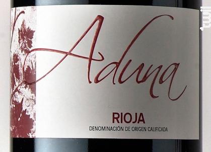 Heredad de Aduna Crianza - Heredad de Aduna - 2015 - Rouge
