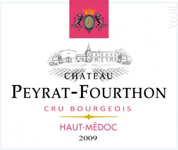 Château Peyrat-Fourthon - Château Peyrat-Fourthon - 2009 - Rouge