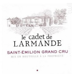 Le Cadet de Larmande - Château Larmande - 2011 - Rouge