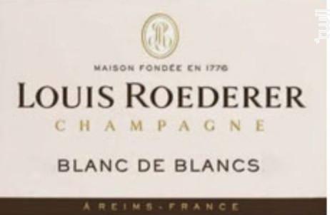 Blanc De Blancs Vintage Roederer - Champagne Louis Roederer - 2010 - Effervescent