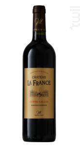 Château La France Cuvée Gallus - Château la France - 2016 - Rouge
