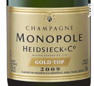 Gold Top - Heidsieck & CO Monopole - 2009 - Effervescent