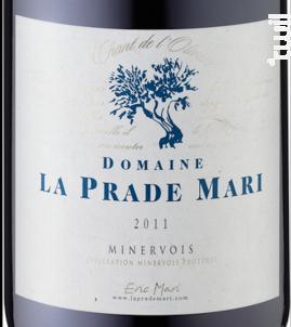 Chant de l'Olivier - Domaine La Prade Mari - 2014 - Rouge