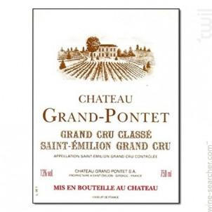 Château Grand Pontet - Château Grand-Pontet - 2007 - Rouge