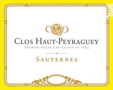 Château Clos Haut Peyraguey - Château Clos Haut Peyraguey - 2016 - Blanc