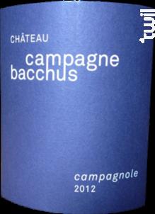 Campagnole - Château Campagne Bacchus - 2014 - Rouge