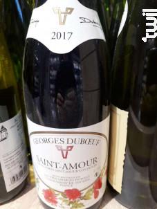 Saint-Amour - Domaine Georges Duboeuf - 2017 - Rouge
