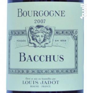 Bourgogne Pinot Noir Bacchus - Maison Louis Jadot - 2013 - Rouge