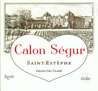 Château Calon Ségur - Château Calon Ségur - 2002 - Rouge
