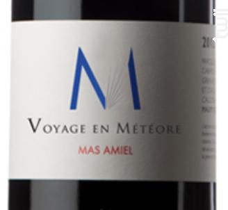 Voyage en météore - Mas Amiel - 2018 - Rouge