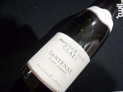 Santenay Clos Genet - Françoise et Denis Clair - 2008 - Rouge