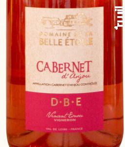 Cabernet d'Anjou - Domaine de la Belle Etoile - 2017 - Rosé