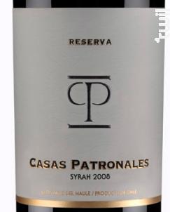 Casas Patronales Syrah - Casas Patronales - 2016 - Rouge