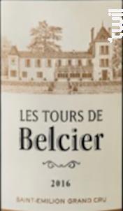 Les Tours de Belcier - Château Bellefont-Belcier - 2015 - Rouge
