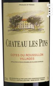 CHÂTEAU LES PINS - Vignobles Dom Brial - 2013 - Rouge