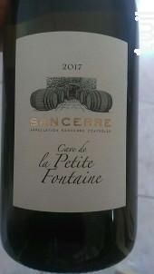 Sancerre - SCEV Fleuriet- Cave de la Petite Fontaine - 2017 - Rouge