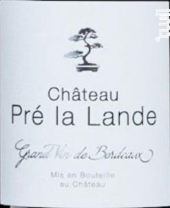 Cuvée des Fontenelles - Château Pré La Lande - 2019 - Rouge