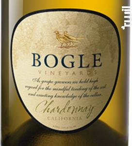 Chardonnay - Bogle Vineyards - 2017 - Blanc