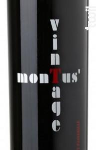 Montus Vintage 50cl - Château Montus - 2011 - Rouge
