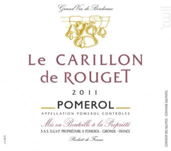 Le Carillon de Rouget - Château Rouget - 2014 - Rouge