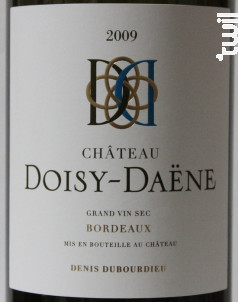 Château Doisy-Daëne - Denis Dubourdieu Domaines - 2015 - Blanc