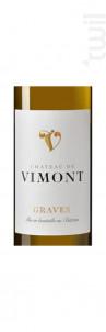 Château de Vimont - Château de Vimont - 2019 - Blanc